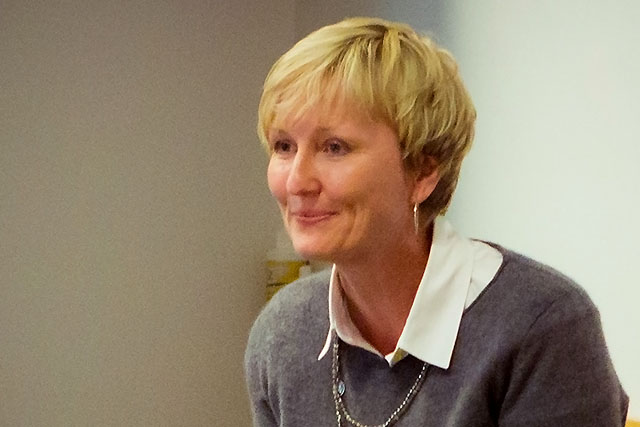 Professor Kathryn Gretsinger will be working with the radio team on the project.