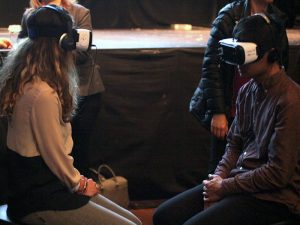 VR Chile event