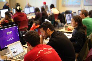 UBC Journalism students
